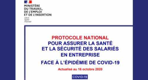 Protocole Sanitaire National